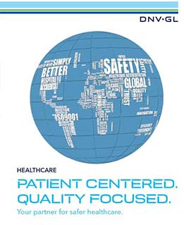 DNV GL healthcare brochure -
